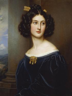 Portrait of Nanette Kaula (1812 - 1876), 1829 by Joseph Karl Stieler