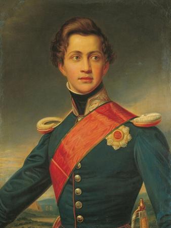 Portrait of Otto, King of Greece, 1832 by Joseph Karl Stieler