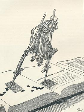 The Modern Dance of Death, C1895 by Joseph Kaspar Sattler