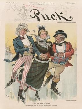 'One of the Causes', Cover from 'Puck Magazine', Vol. XLIV, No. 1138, Dec. 28th 1898 by Joseph Keppler