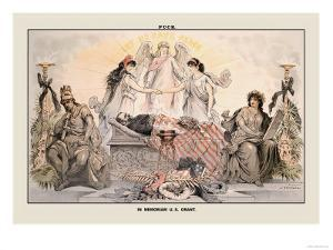 Puck Magazine: In Memoriam U.S. Grant by Joseph Keppler