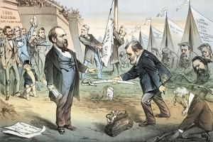 The Appomattox of the Third Termers - Unconditional Surrender, 1880 by Joseph Keppler