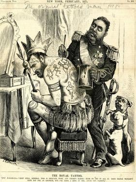 The Royal Tattoo, 1875 by Joseph Keppler