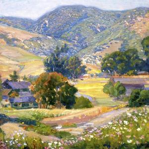 Jeweled Hills by Joseph Kleitsch