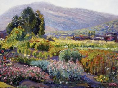 The Flower Garden by Joseph Kleitsch