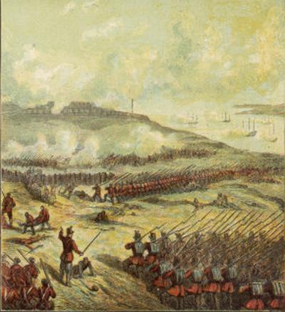 British Troops at the Battle of Inkerman by Joseph Kronheim