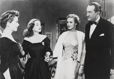Scene from All About Eve, 1950 by Joseph L Mankiewicz