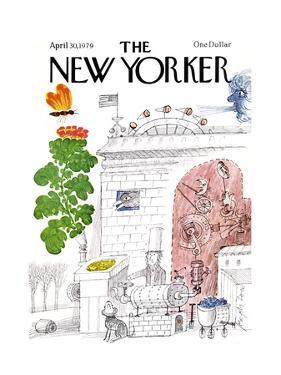 The New Yorker Cover - April 30, 1979 by Joseph Low