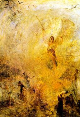 Joseph Mallord Turner Angel in the Sun Art Print Poster
