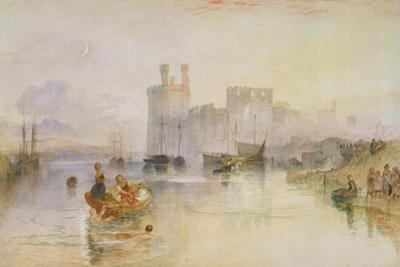 Caernarvon Castle, c.1833 by Joseph Mallord William Turner