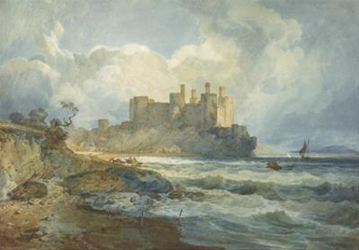 Conway Castle, North Wales by Joseph Mallord William Turner