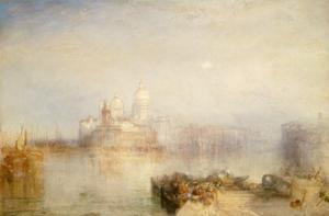 Dogana and Santa Maria Della Salute, Venice, 1843 by Joseph Mallord William Turner