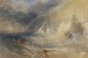 Long Ship's Lighthouse, Land's End by Joseph Mallord William Turner
