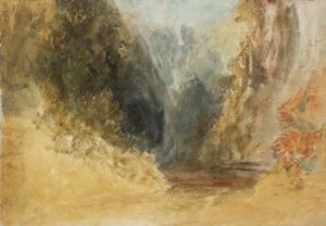 Mill Gill Fall, near Askrigg, Wensleydale by Joseph Mallord William Turner