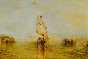 "The "" Sun of Venice"" going to sea by Joseph Mallord William Turner"