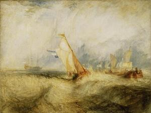 Van Tromp, going about to please his Masters, Ships a Sea, getting a Good Wetting, by Joseph Mallord William Turner