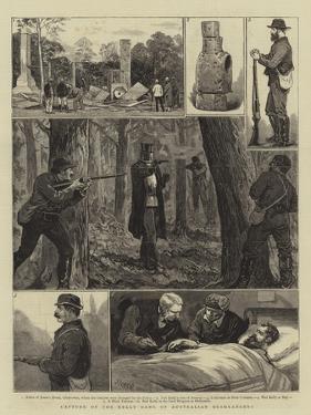 Capture of the Kelly Gang of Australian Bushrangers by Joseph Nash