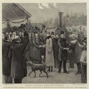 Prince Bismarck's Eightieth Birthday by Joseph Nash
