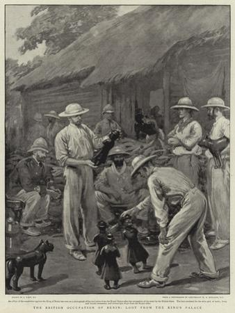 The British Occupation of Benin, Loot from the King's Palace