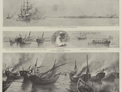 The Disturbance Off Bahrein in the Persian Gulf, the Bombardment of the Pirate Dhows