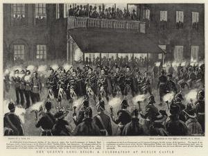 The Queen's Long Reign, a Celebration at Dublin Castle by Joseph Nash