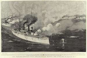The Spanish-American War, the Battle of Manila, the Fighting in Cavite Bay by Joseph Nash