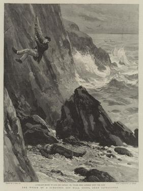 The Wreck of a Schooner Off Bull Point, Near Ilfracombe by Joseph Nash