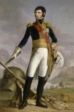 Portrait of Jean Baptiste Jules Bernadotte, Marshal of France, King of Sweden and Norway, 1818 by Joseph Nicolas Jouy