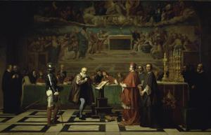 Galileo Before the Inquisition, 1632 by Joseph-Nicolas Robert-Fleury