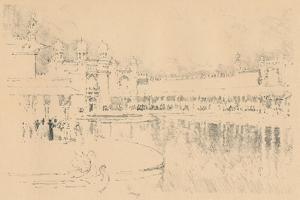 Auto-Lithograph by J. Pennell, C1877-1898, (1898) by Joseph Pennell