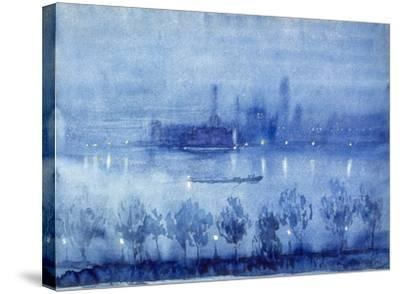 Blue Night, London by Joseph Pennell