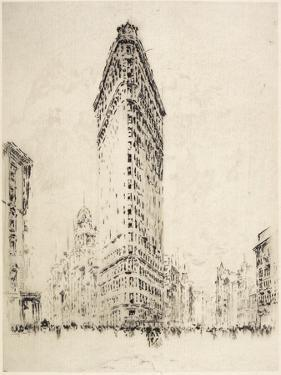 Flatiron Building, 1904 by Joseph Pennell