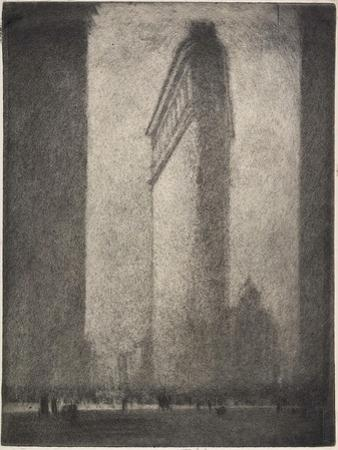 Flatiron Building, 1908 by Joseph Pennell