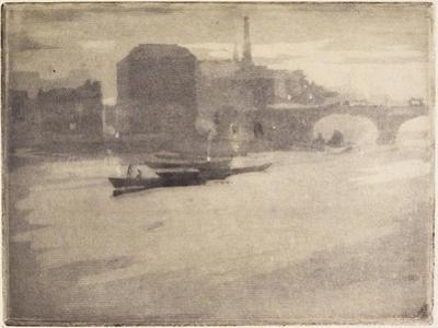 La Tamise (The Thames), 1894 by Joseph Pennell