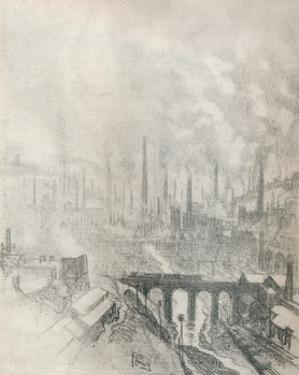 'Munition City', 1916, (1917) by Joseph Pennell