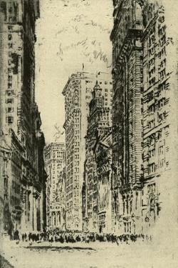 New York City - by Joseph Pennell
