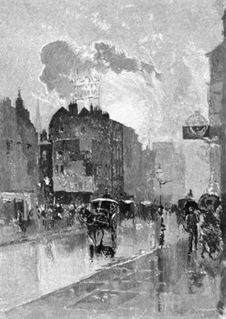 Oxford Street by Joseph Pennell