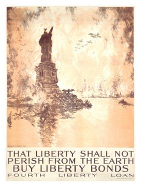 That Liberty Shall Not Perish by Joseph Pennell
