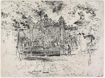 The Gate, Grey's Inn, C. 1903-1906 by Joseph Pennell