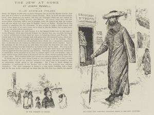 The Jew at Home by Joseph Pennell