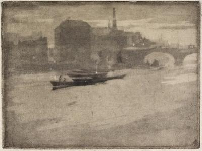 The Thames, 1894 by Joseph Pennell