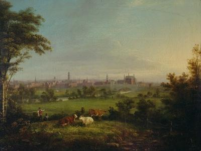 Leeds from the Meadows, C.1825