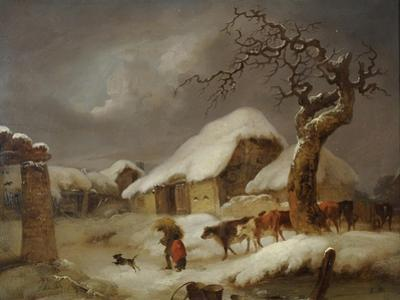 Snow in the Farmyard, 1812
