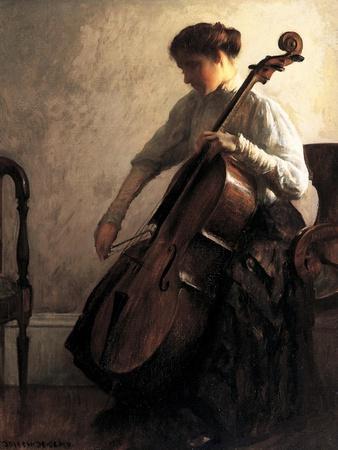 The Cellist, 1908