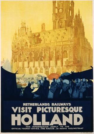 Visit Picturesque Holland Poster by Joseph Rovers
