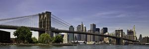 Brooklyn Bridge Span by Joseph Rowland