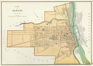 Albany, New York, c.1895 by Joseph Rudolf Bien