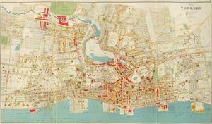 Composite: Yonkers, New York, c.1893 by Joseph Rudolf Bien