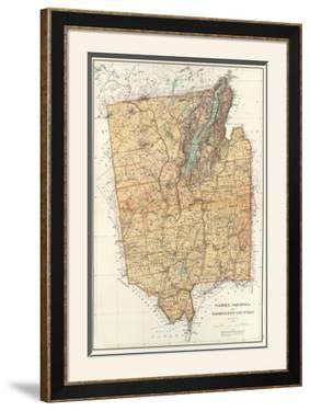 New York: Warren, Saratoga, Washington Counties, c.1895 by Joseph Rudolf Bien