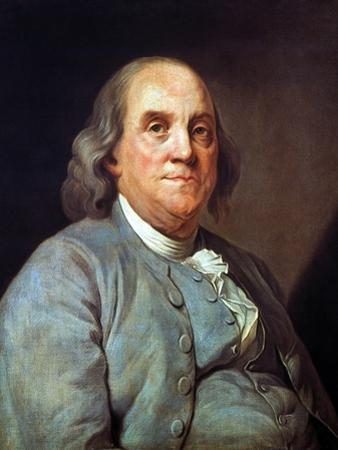 Benjamin Franklin (1706-1790) by Joseph Siffred Duplessis